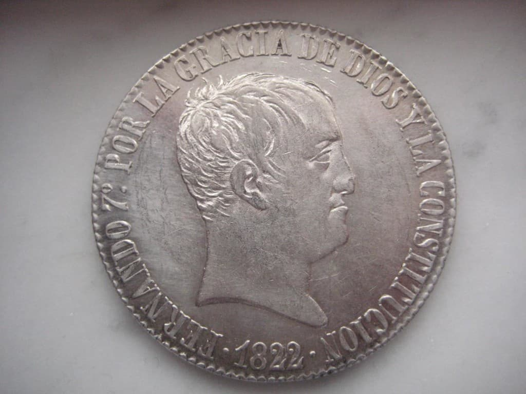 20 reales 1822
