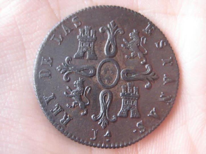 8 maravedís 1822