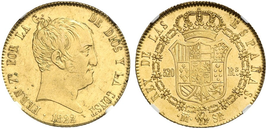 320 reales 1822