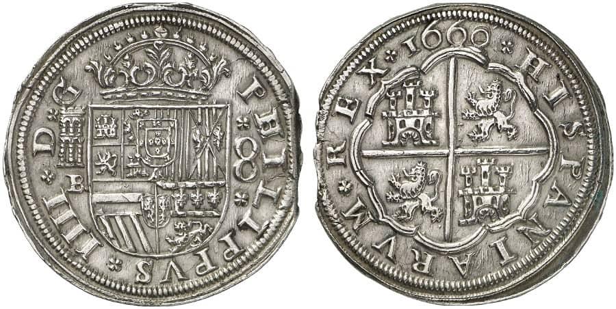 8 reales Segovia