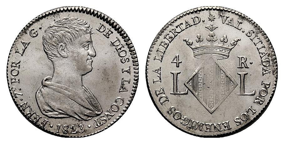 4 reales 1823