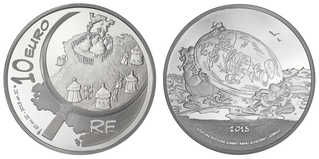 moneda Asterix 2013