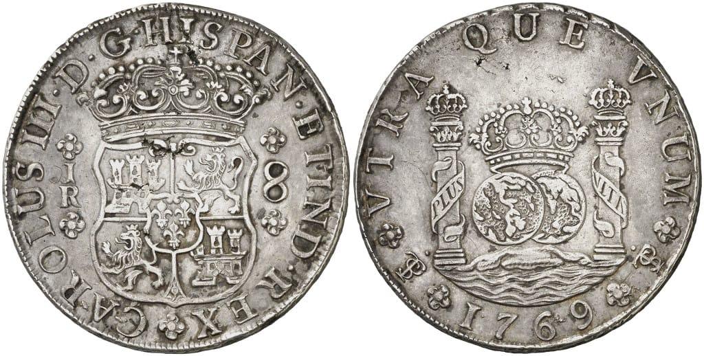 8 reales Potosí 1769