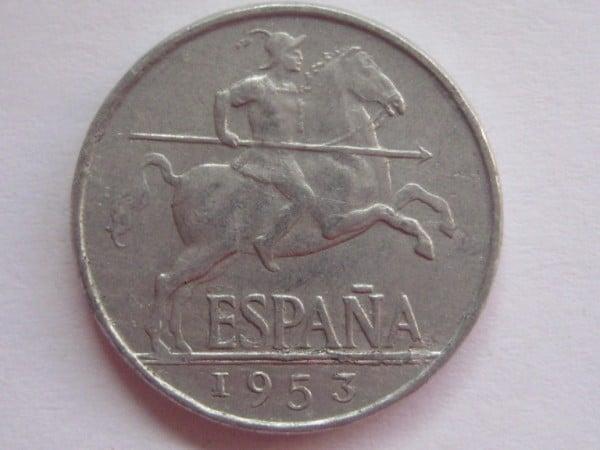 5 céntimos 1953