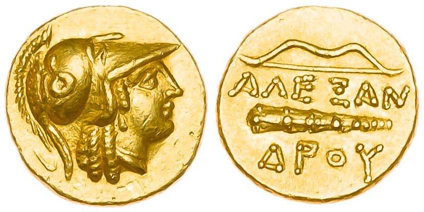 estátera Alejandro Magno
