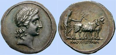 denario octavio augusto