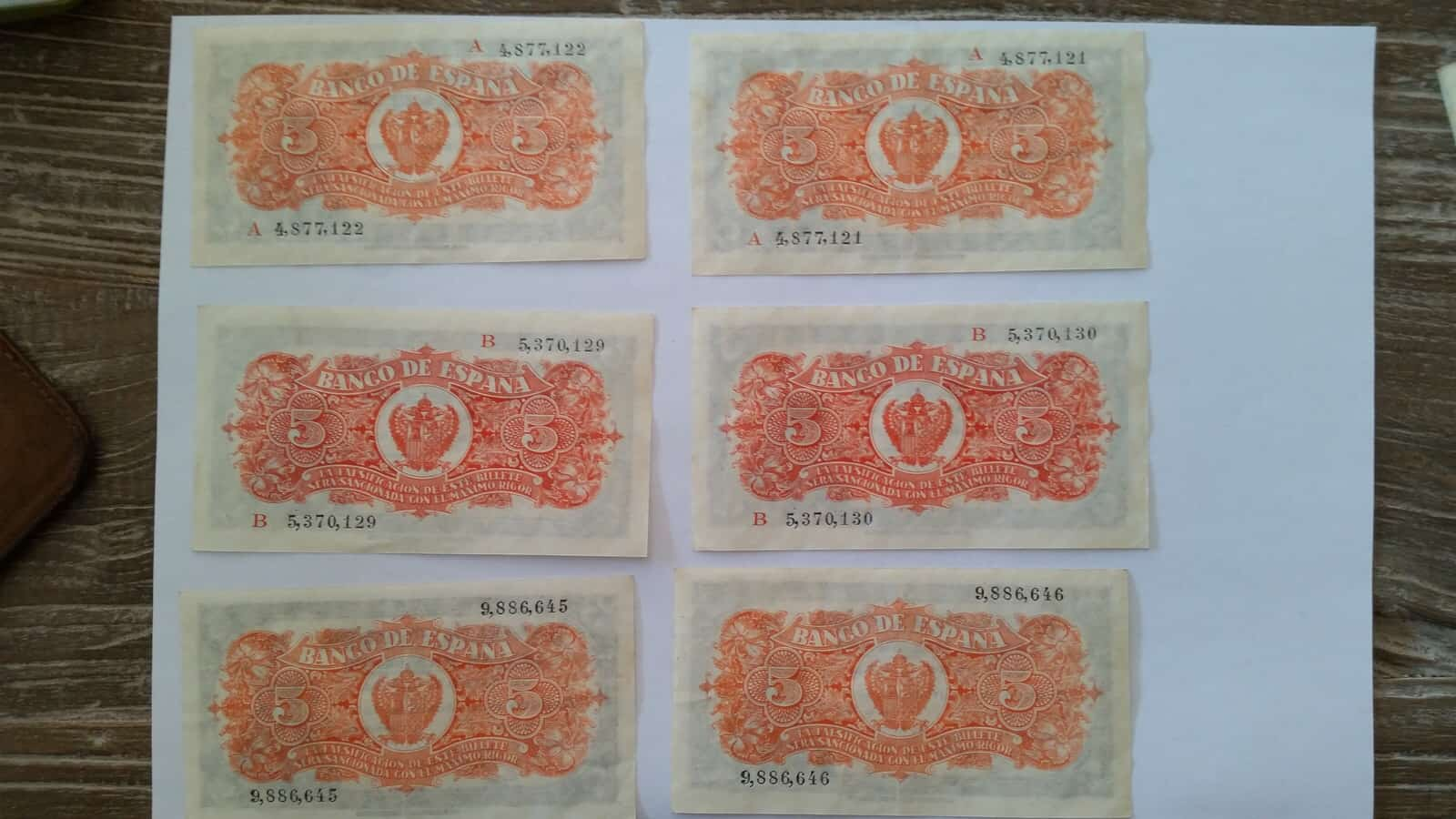 5 pesetas 1937