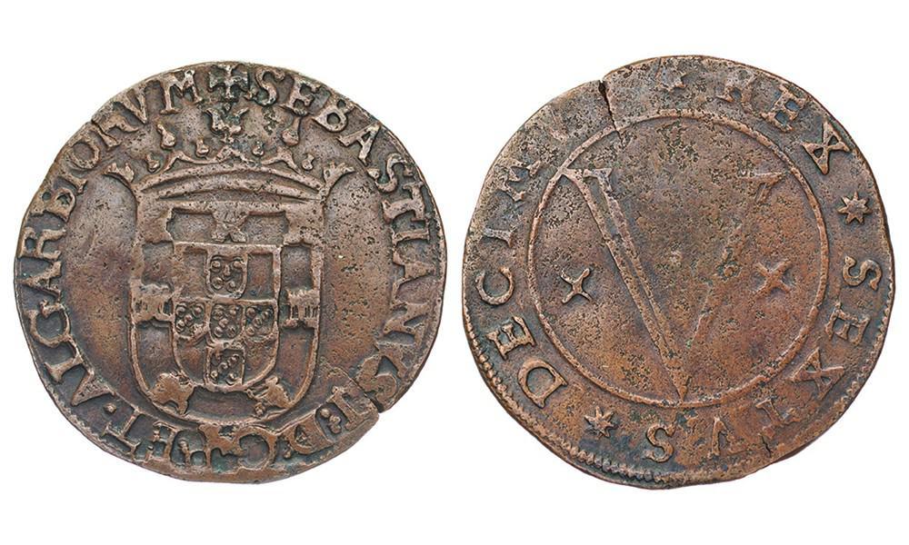 5 reales Sebastian I