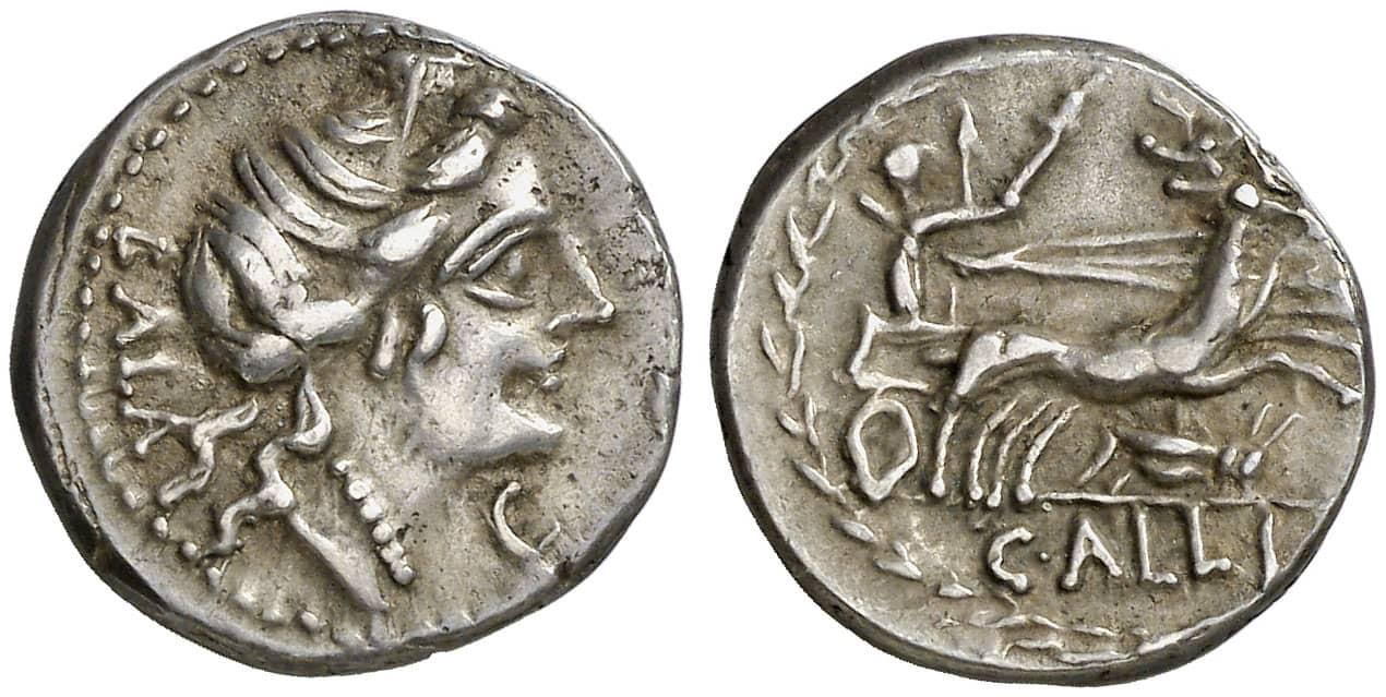 denario Gens Aelia
