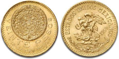México, 20 pesos