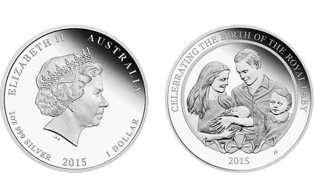 Reino Unido, 1 onza en homenaje a la Princesa Charlotte