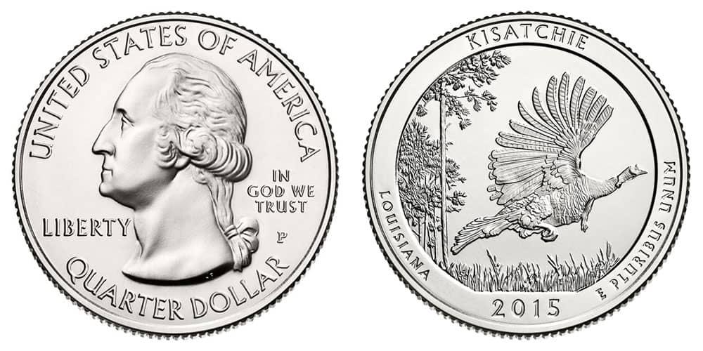 Estados Unidos, 25 centavos