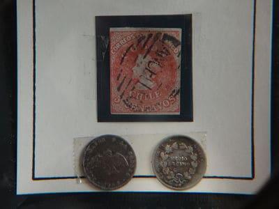 primer sello de Chile