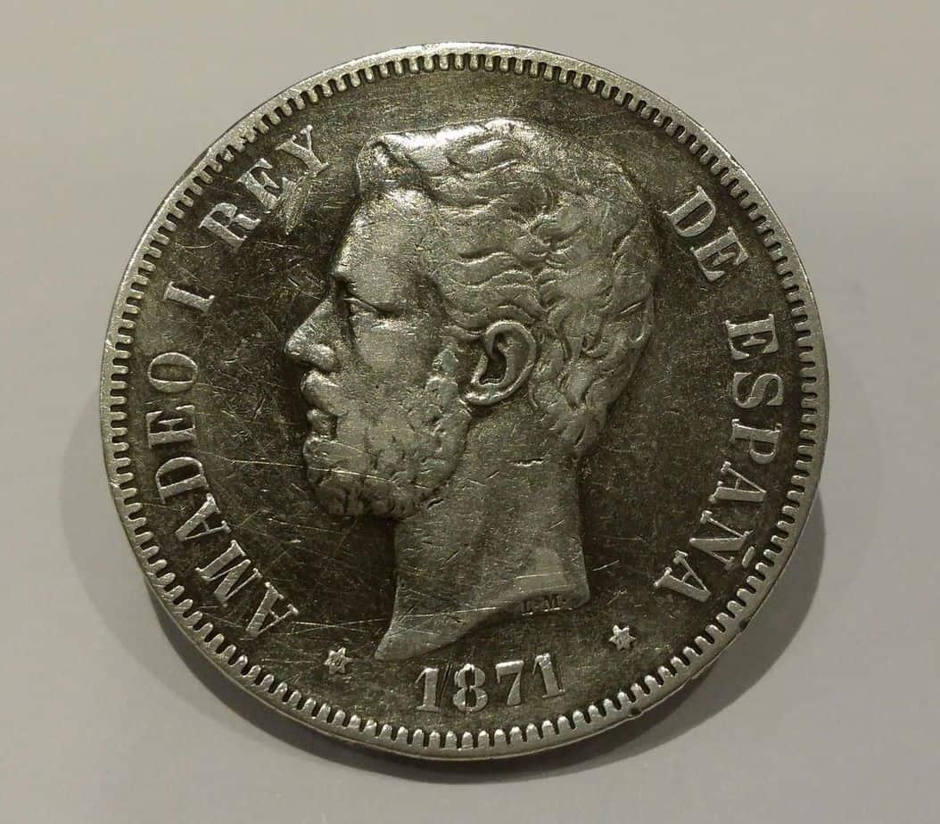 moneda repatinada