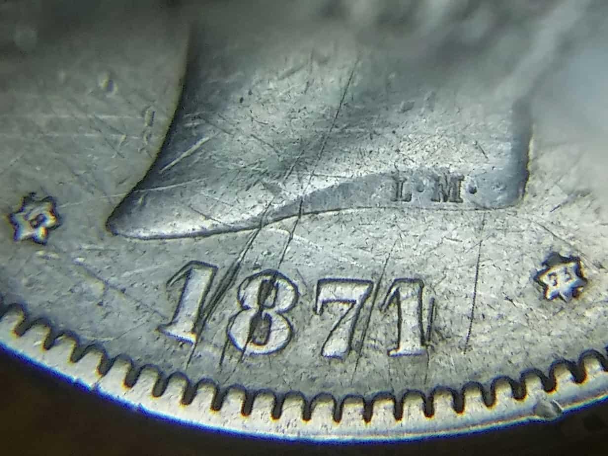 5 pesetas 1871 (18-73)