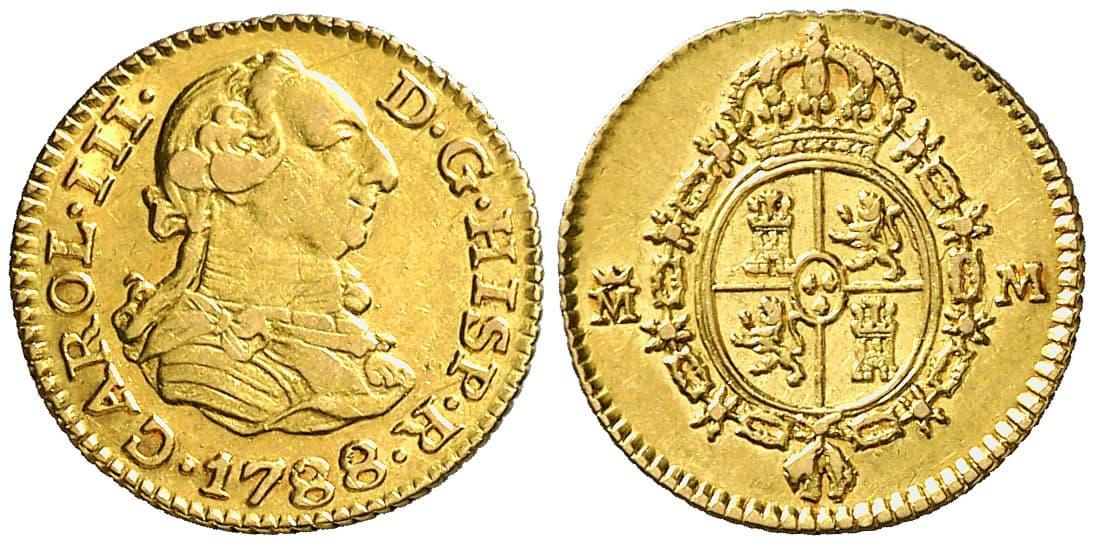medio escudo 1788