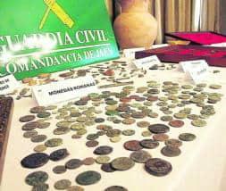 monedas expoliadas