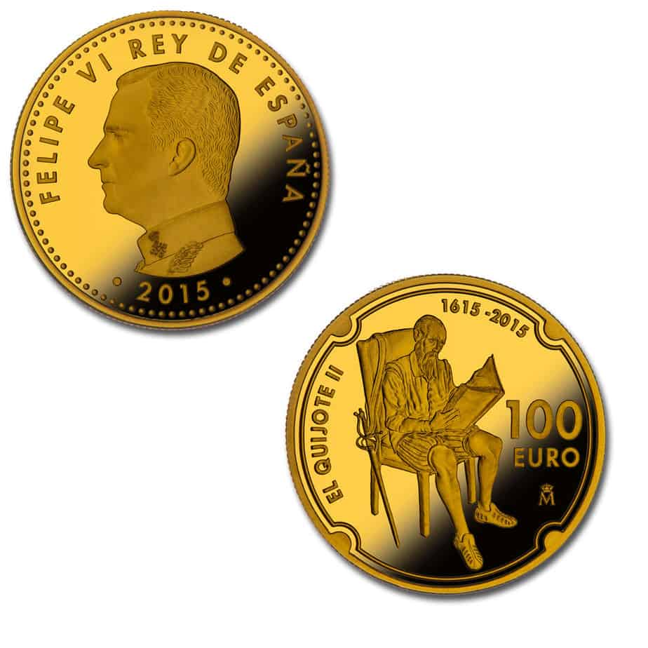 100 euros Quijote 2015