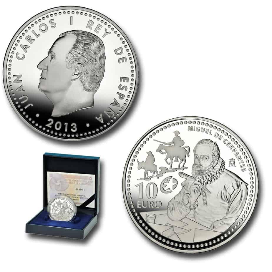10 euros Cervantes 2013