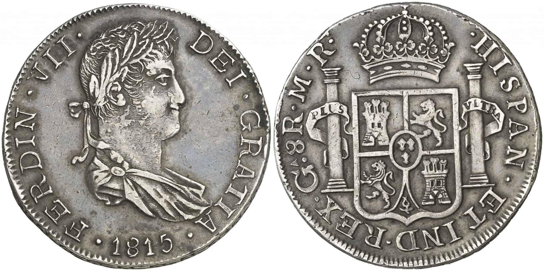 8 reales Guadelajara 1815