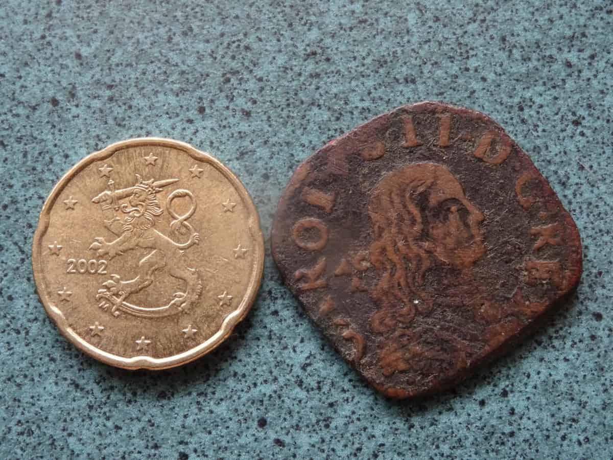 moneda a identificar anverso