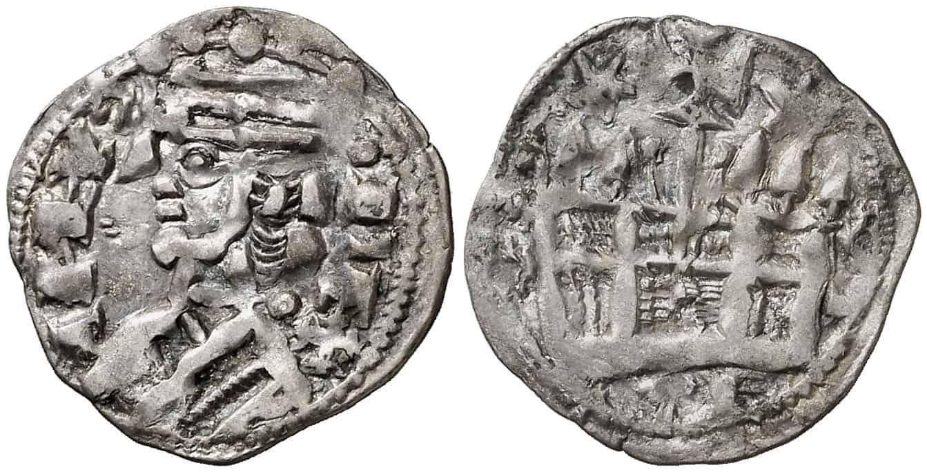dinero Toledo Alfonso VIII