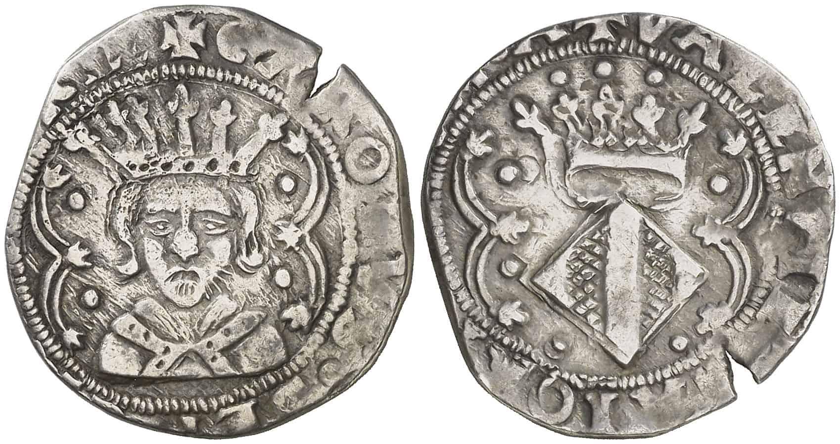 2 reales Valencia Carlos I