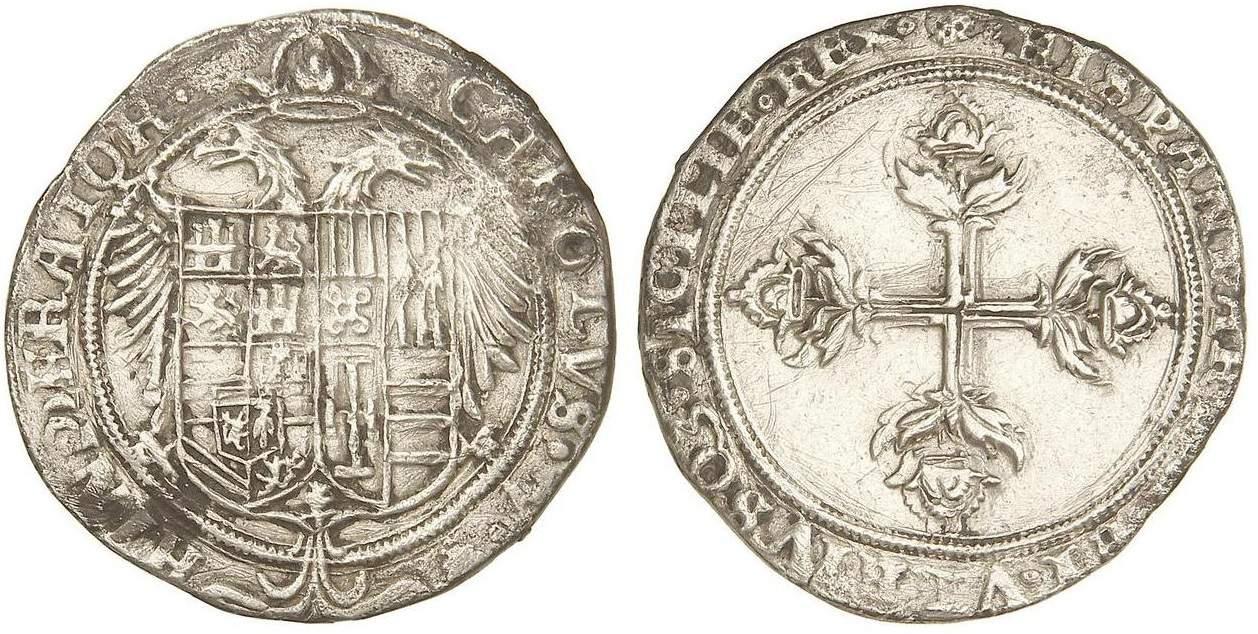 3 reales Valencia Carlos I
