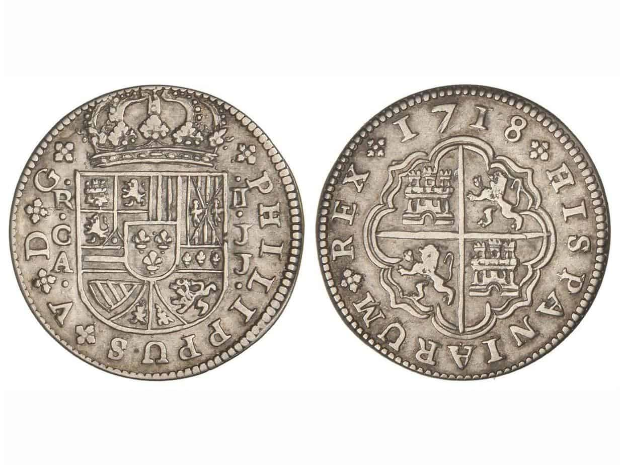 2 reales Cuenca Felipe V