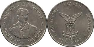 monedas lazaretos isla de Culión