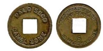 moneda lazareto Panamá
