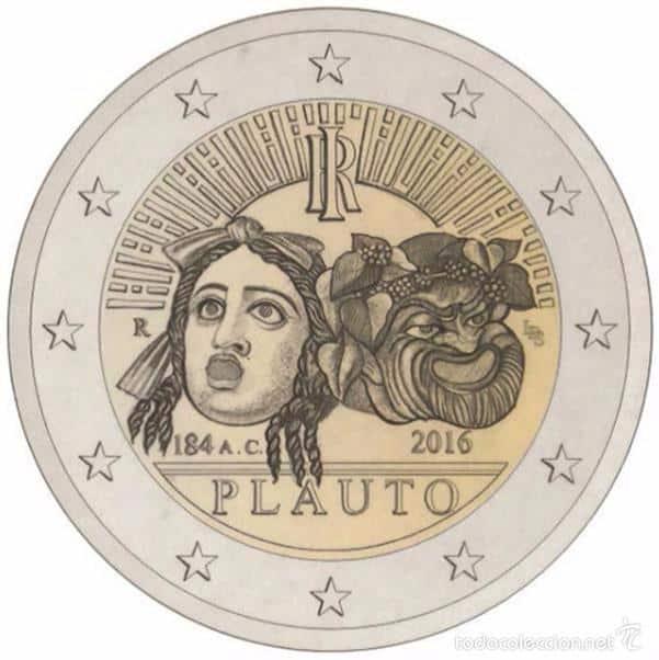 2 euros Plauto
