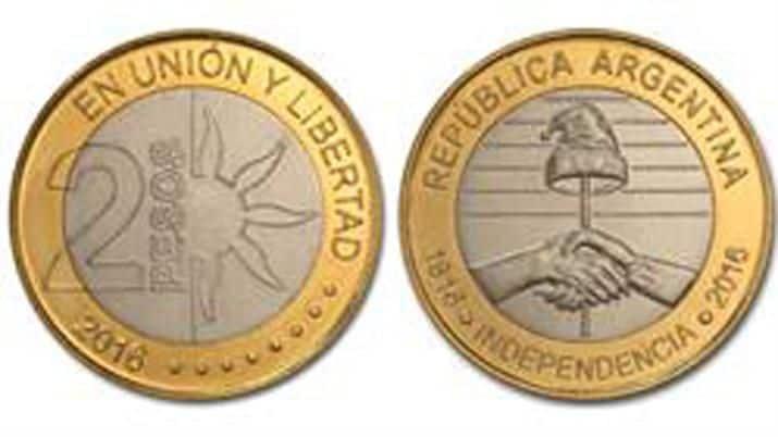 Argentina 2 pesos 2016