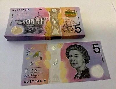 5 dólares australianos 2016