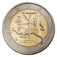 2 euros Lituania