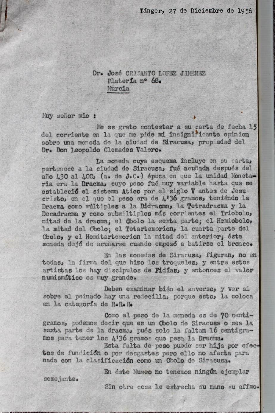 carta César Luis de Montalbán