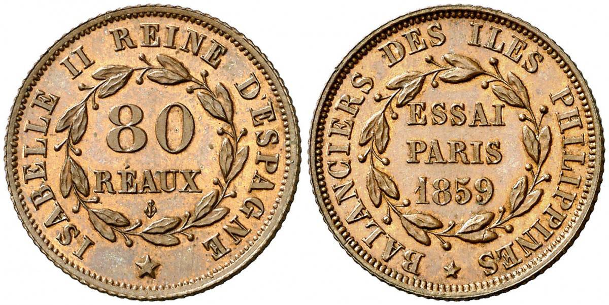 80 reaus 1859 Paris