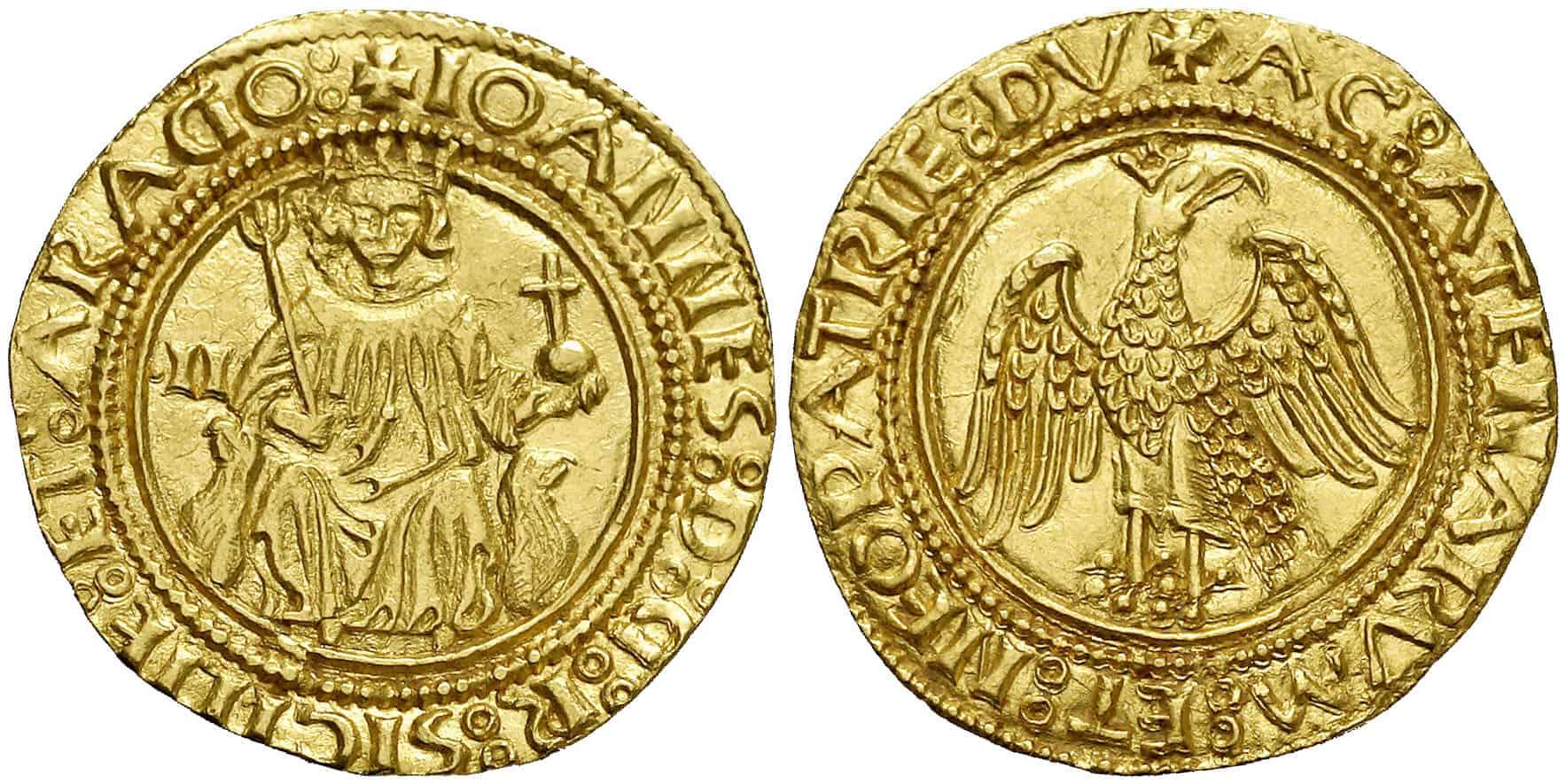 real de oro de Sicilia