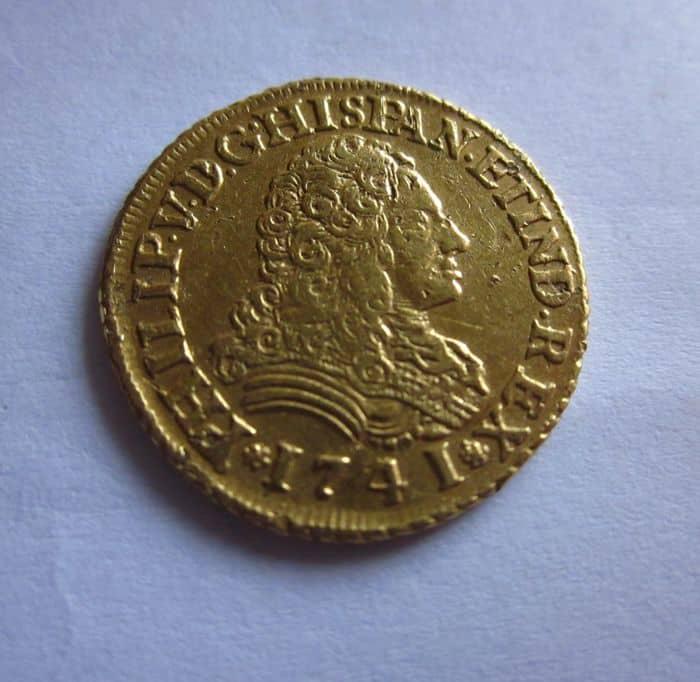 2 escudos Sevilla 1741