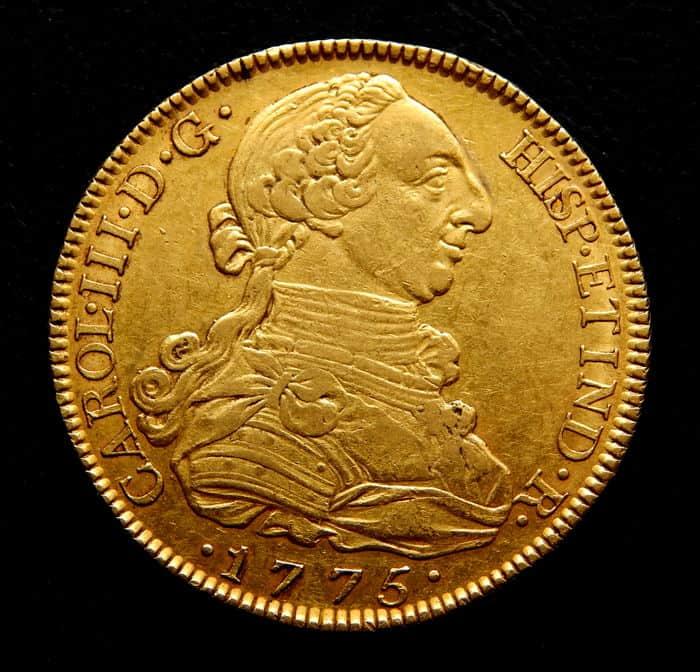 8 escudos Madrid 1775