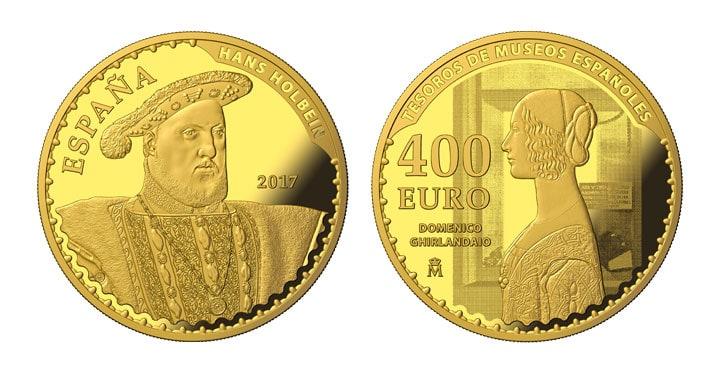 400 euros FNMT Holbein
