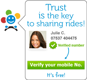 BlablaCar - Mobile number verification