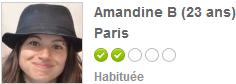 Amandine Bourbon