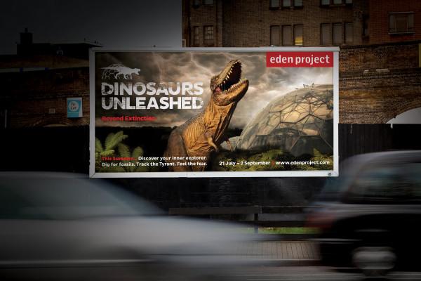 EDEN 48 sheet dinosaur