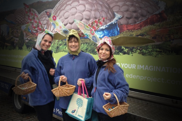 Eden Project (Promotional Staff), Truro - 7th April 2014