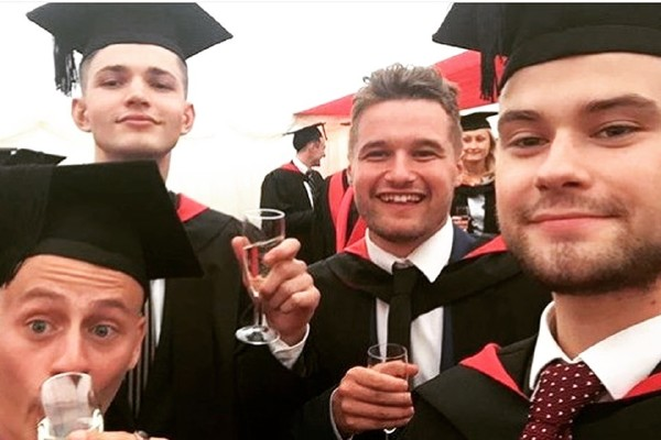 Josh graduation
