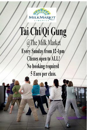 Bon Appétit Catering in Limerick: We have Tai Chi every Sunday.