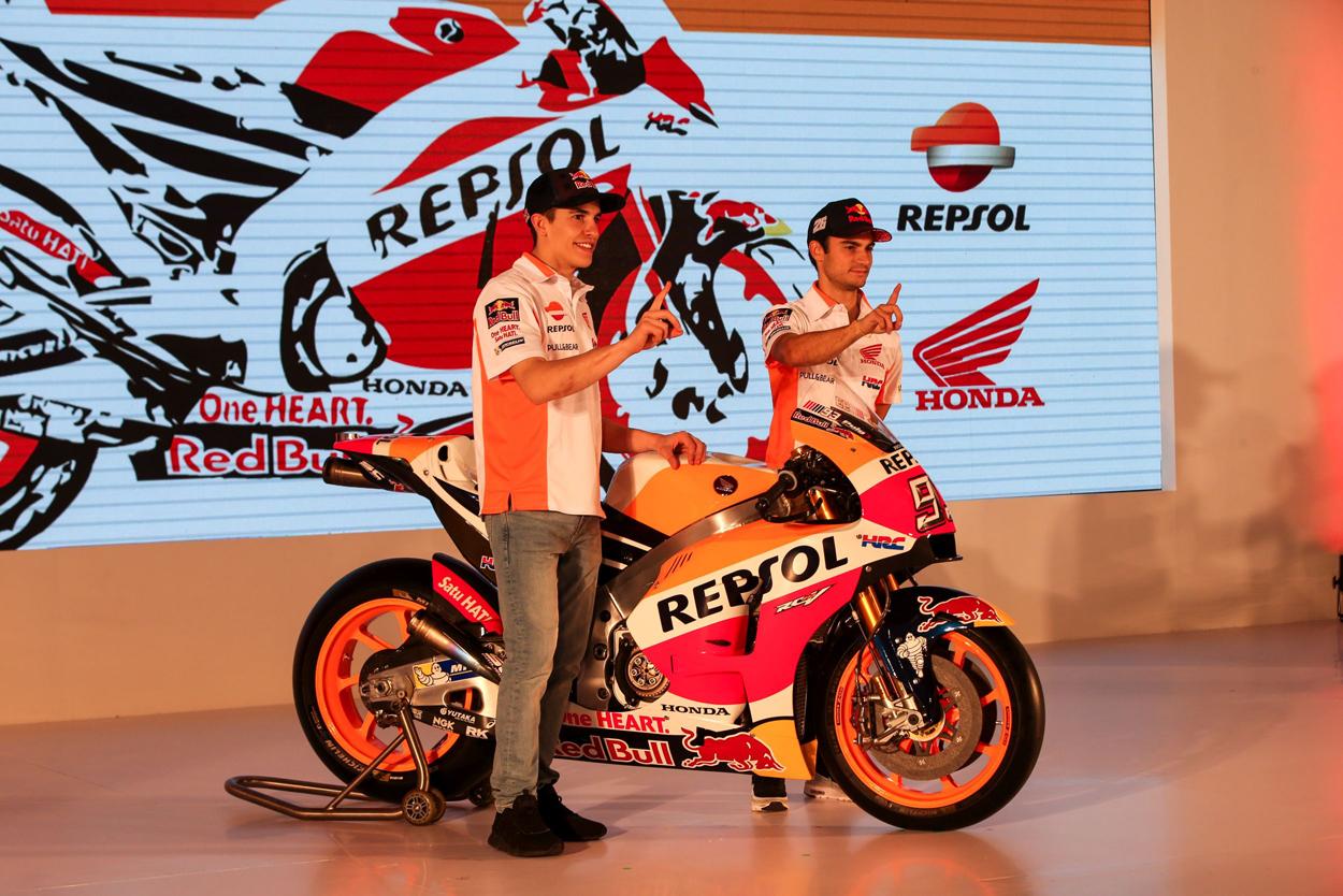 Repsol Honda Team Unveil 2017 Racing Effort In Indonesia Box Repsol
