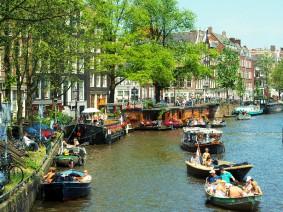 Dagtocht Amsterdam BN'ers spotten, rondvaart, Wallen