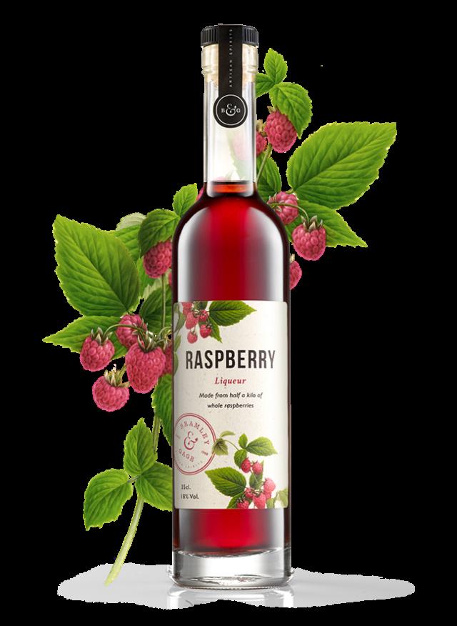Raspberry Liqueur (35cl)  18% ABV.